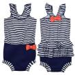 Plavky Happy Nappy kostýmek - Nautical - Vel. S (0-4 m)