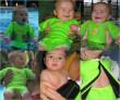 Baby neoprén-body - tmavě modrá VEL. M ( 0 - 3 měsíce)