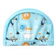 Koupací a plavecká čepice - Zvířátka modrá, 18m+