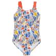 Dívčí jednodílné plavky Jungle Paradise - Vel. 4-5 let