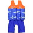 Dětský plováček se zipem Short John Žralok - Vel. S (1-2 roky)