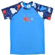 Plážové UV triko krátký rukáv Vodní svět - Vel. 3-4 roky