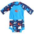 Plavky Happy Nappy kostýmek 3/4 rukáv Vodní svět - Vel. XL (12-24 měs.)