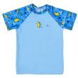 Plážové UV triko krátký rukáv Krokodýli - Vel. (2-3 roky)