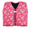 Dětská plovací vesta Růžová s květy - 1 - 3 roky