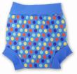 Plavky Happy Nappy - modré tečky - VEL. S (3 - 6 kg)