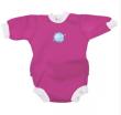 Baby neoprén-body - růžová - Vel. M (0 - 3 měs)