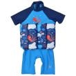 Dětský plováček Short John - Vodní svět s rukávem - Vel. S (1-2 roky)