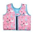 Plovací vesta Go Splash zvířátka růžová - Vel. S (1-2 roky )