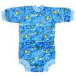 Baby neoprén - body - Krokodýli - Vel. M (3-8 m)