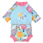 Plavky Happy Nappy kostýmek 3/4 rukáv Sunsuit Up & Away