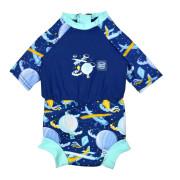 Plavky Happy Nappy kostýmek 3/4 rukáv Sunsuit Up in the Air