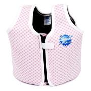 Dětská plovací vesta Růžová kostka VEL. 3 - 6 let