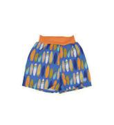 Dětské plavky inkontinenční Happy Nappy šortky - vzor surfs up vel. XL (13-18kg)
