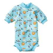 Baby neoprén - body - Zvířátka modrá