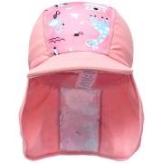 Čepice pirát s UV filtrem 50+ Zvířátka růžová