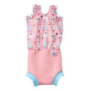 Plavky Happy Nappy kostýmek - Zvířátka růžové