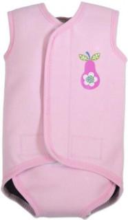 Baby neoprén-kombi - Růžová hruška
