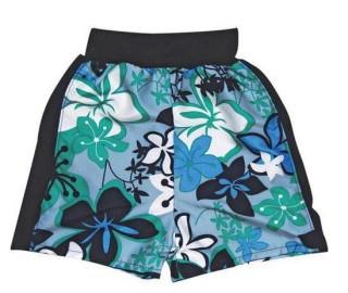 Kojenecké šortky - inkontinenční, modré