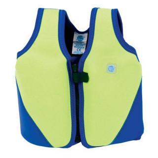 Dětská plovací vesta Zelenomodrá - Vel. 10 - 14 let
