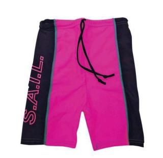 Plážové UV šortky Růžové