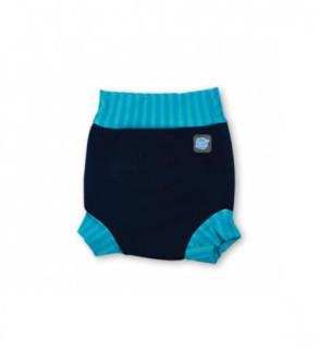 Plavky Happy Nappy - modrá laguna
