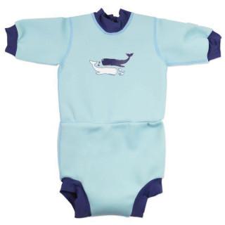 Baby neoprén-body - velryba