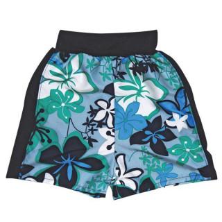 Plážové UV šortky Modrá