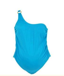 Těhotenské plavky - modré