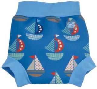 Plavky Happy Nappy - lodička VEL. XXL