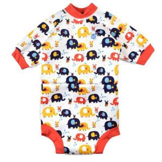 Baby neoprén - body - Malý slon